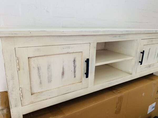 timber tv cabinet