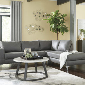 Leather Lounge Chaise
